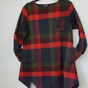 Cupshe Lady Leisure Plaid Casual Dress